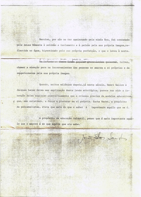 Carta de Joao dos Santos a Dra Maria Francisca Conceicao 1987