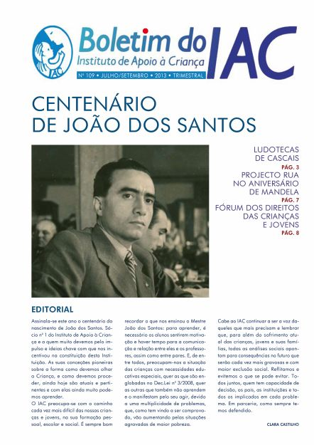 Boletim do IAC - 109 - Setembro de 2013 Page 1