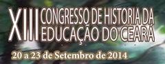 XIII Congresso de Historia da Educacao do Ceara MEDIUM