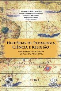 Capa do livro - Historias de Pedagogia Ciencia e Religiao - finalista no 59 Premio Jabuti