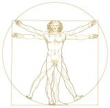 Vitruvian man - Rev2